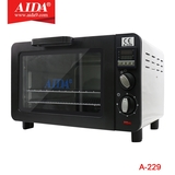 A-229 Electric blast split screen oven